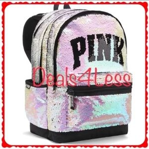Victoria's Secret PINK Bling Campus Backpack NWT